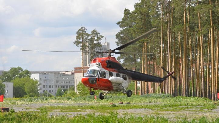 Мальчика, которому мужчина прострелил голову в Нижнем Тагиле, повезли на вертолете в Екатеринбург