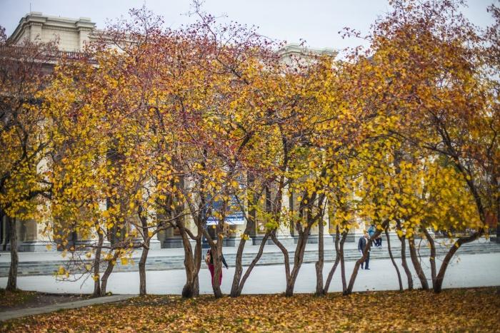 Синоптики считают, что во второй декаде октября будет теплее обычного