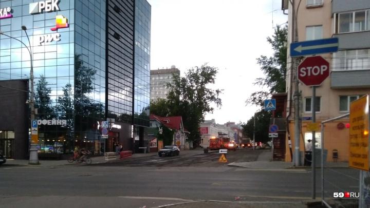 Фотофакт: в Перми на бывшей пешеходной улице начали менять асфальт