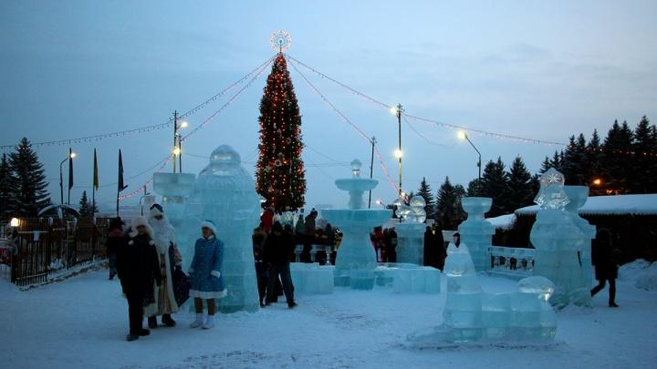 Ожидание и реальность: смотрим, как выглядят главные ледовые городки Омска