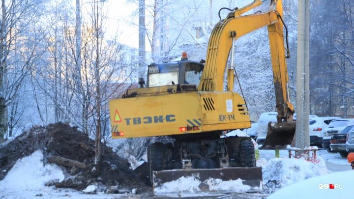 «Ведутся ремонтные работы»: где в Архангельске сегодня нет тепла, света и воды