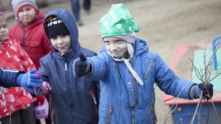Сиреневый сад для дошколят:«Зеленая дружина» СГК завершила экомарафон праздником осени