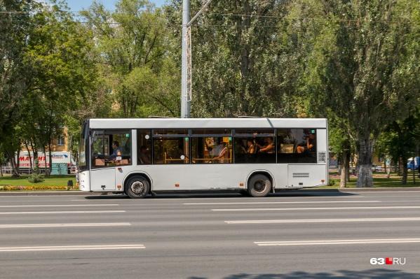 Автобус ехал по маршруту, когда произошло ЧП