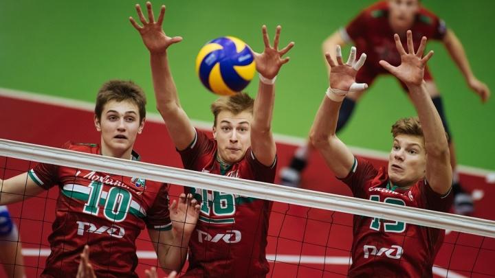 Новосибирские волейболисты выиграли первый матч Молодёжной лиги