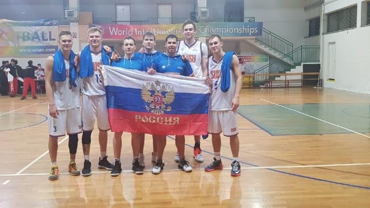 Челябинские студенты-баскетболисты взяли золото на чемпионате мира в Хорватии