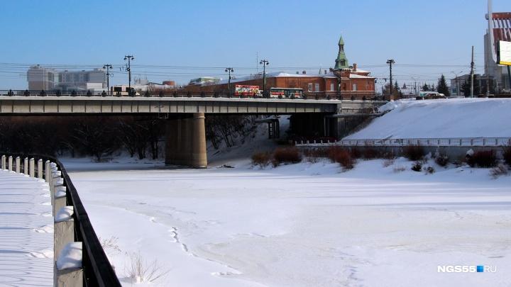 В Омске сегодня перекроют Комсомольский мост