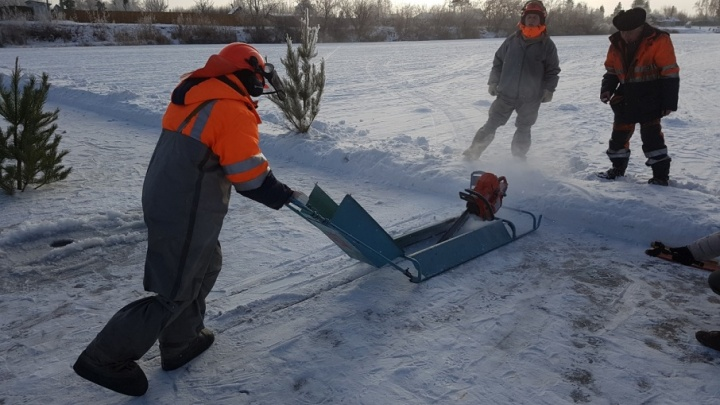 «Водный союз» освободит Тобол ото льда, чтобы Курган не затопило