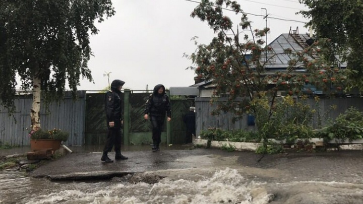 Причины затопления Красноярска в ливень устанавливают следователи