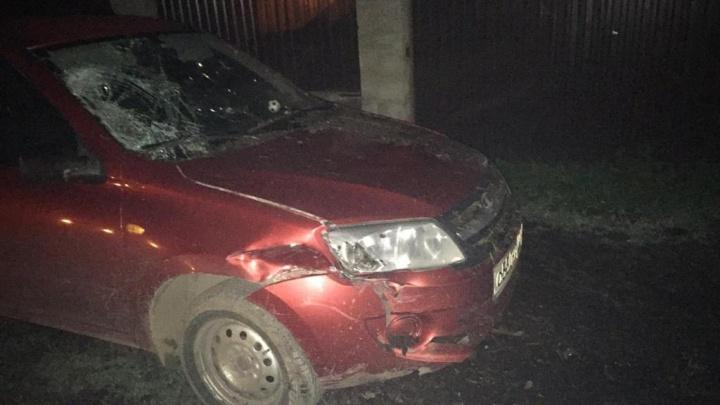 Мне не их жалко, а машину: появилось видео с места ДТП в Бирске, где подростки врезались в «Ладу»