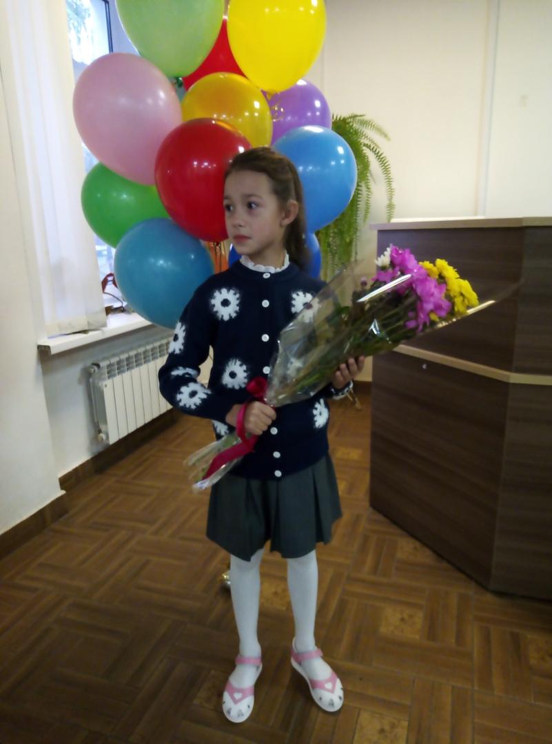 С шариками и цветами — настоящий праздник