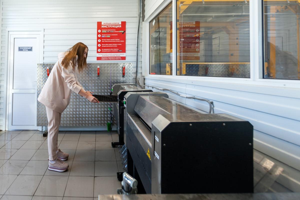 Помыть автомобильные коврики можно в специальном помещении