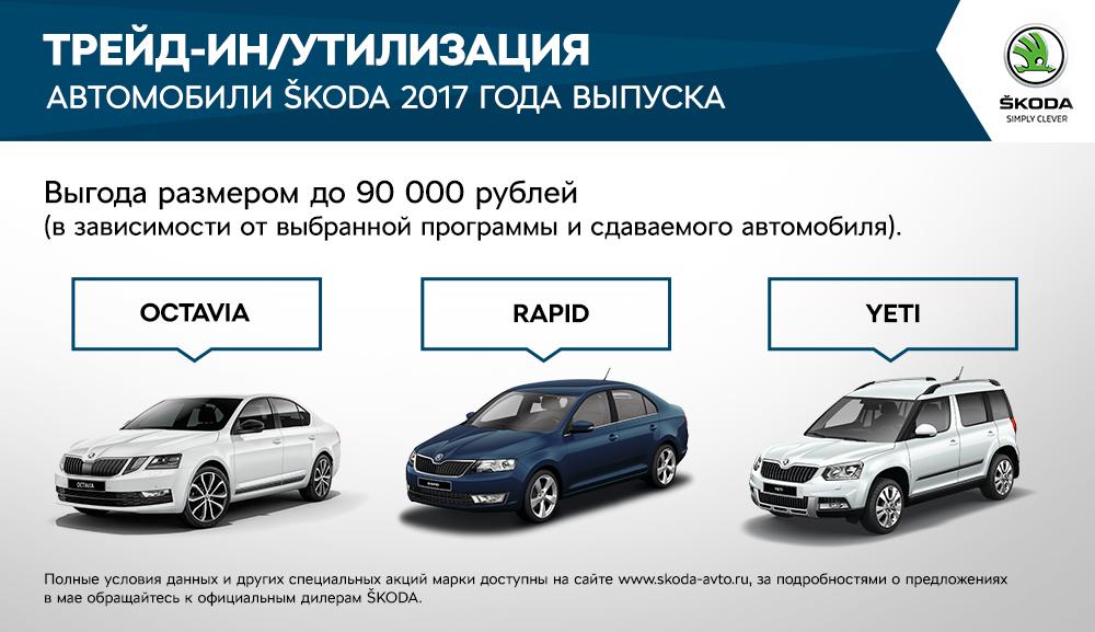 Каждая 3-я Шкода продается попрограмме обновления автопарка
