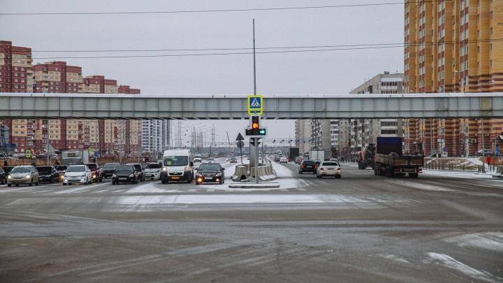 На Широтной — Монтажников полностью открыли девятиполосную дорогу