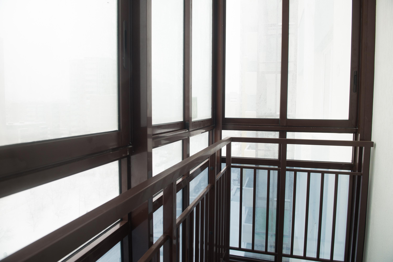 На балконе даже в -20 °С нет наледи