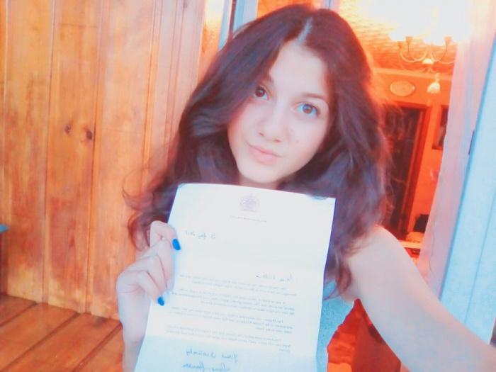 Вика изучает английский язык со второго класса