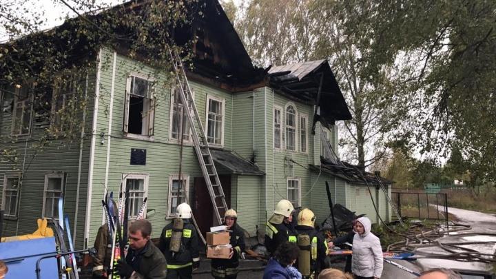 В Ярославской области сгорела школа: где будут учиться дети