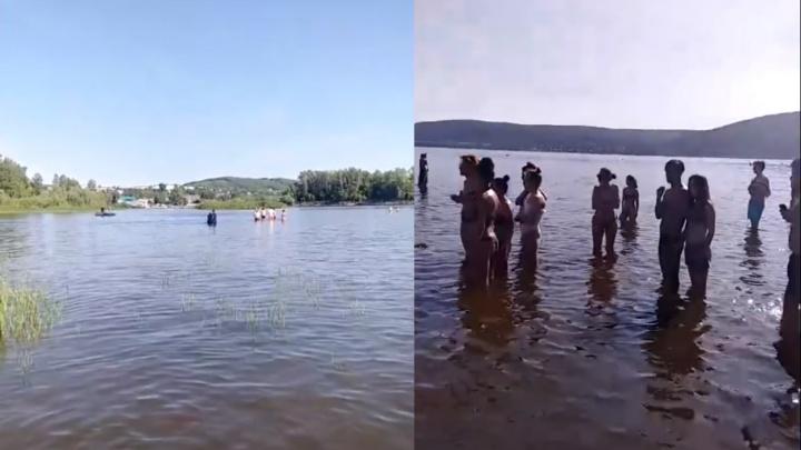 «Все думали, что ребята шутят и играют»: в Самаре на пляже утонул подросток
