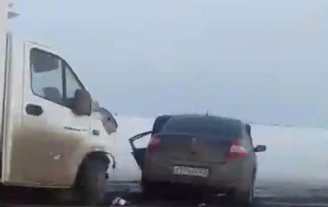 На трассе в Башкирии произошла серьезная авария