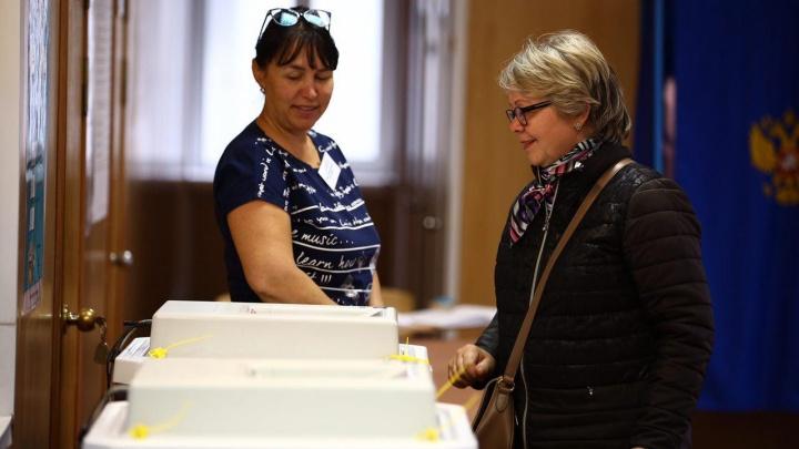 В Новосибирске начались выборы мэра