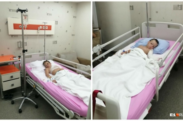 Мальчиков отвезли в больницу № 9
