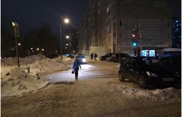 Полиция Перми ищет водителя, сбившего 88-летнюю пенсионерку