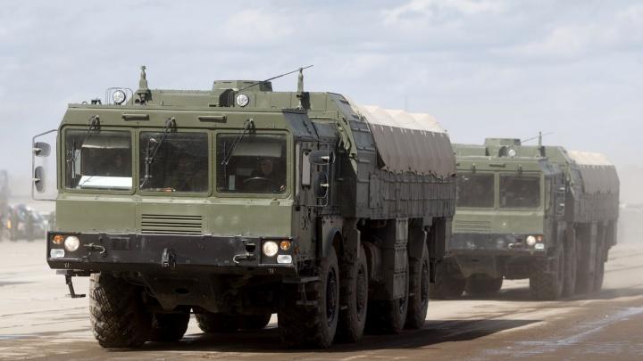 В Самару прибыли ракетные комплексы «Искандер» для участия в параде Победы