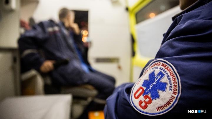 Два человека отравились угарным газом в ночном пожаре на Первомайке