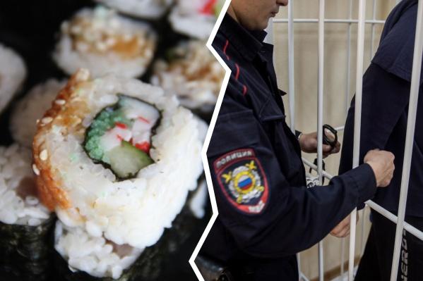 Оба новосибирца получили сроки в колонии за нападение на курьера с едой