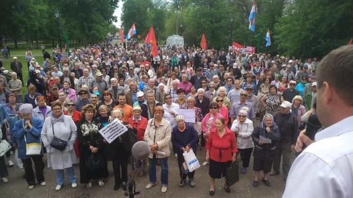 На митинге против мусорной реформы в Самаре горожане потребовали «отменить регоператора»