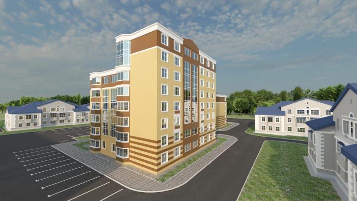 В Калининском районе строят жилой комплекс всего на 100 квартир