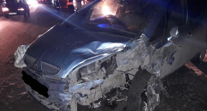 ДТП произошло в 300 метрах от перекрестка с Бердским шоссе