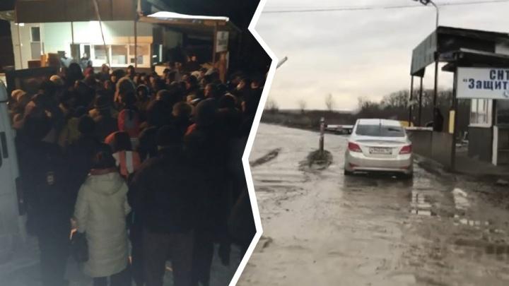 Пробили голову, сломали челюсть: полиция занялась ростовскими садоводами после драки за шлагбаум