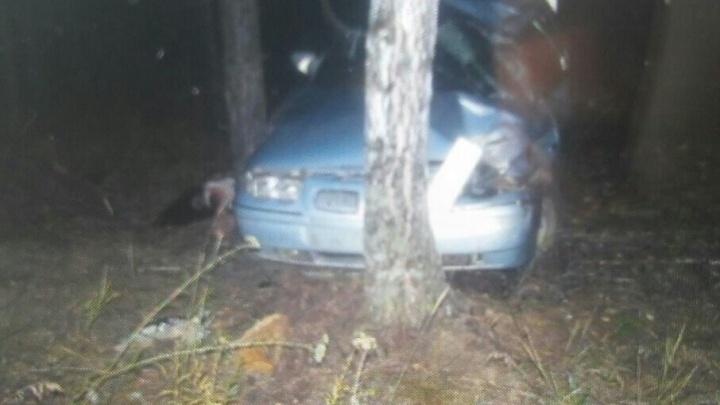 Женщина за рулем «десятки» разбилась на трассе в Башкирии