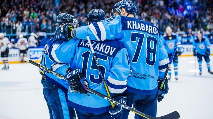 «Сибирь» выиграла у «Адмирала» из Владивостока