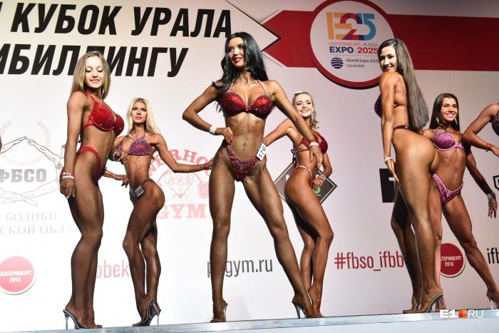 Участницы соревнований совсем не похожи на горы мышц