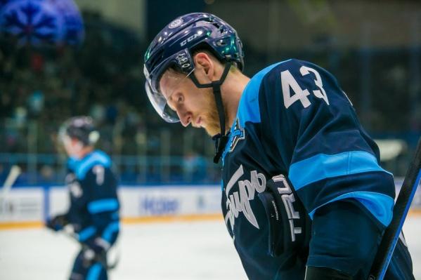 Максим Игнатович играл под номером 43