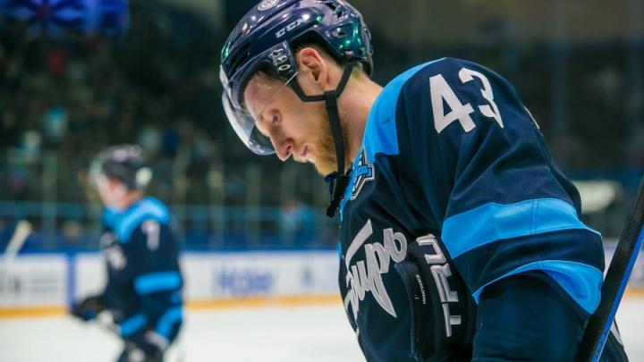 Из ХК «Сибирь» ушёл защитник, игравший за команду 10 лет