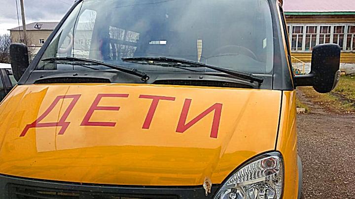 В Башкирии задержали пьяного водителя школьного автобуса