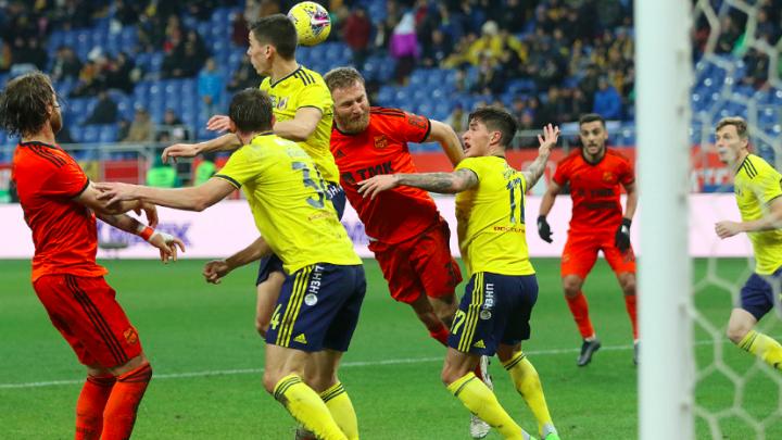 Две самые пропускающие команды чемпионата — «Урал» и «Ростов» — сыграли со счётом 0:0