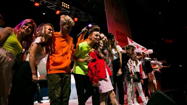 Самарские школьники выступили на одной сцене со звездами ТВ и Ютьюба