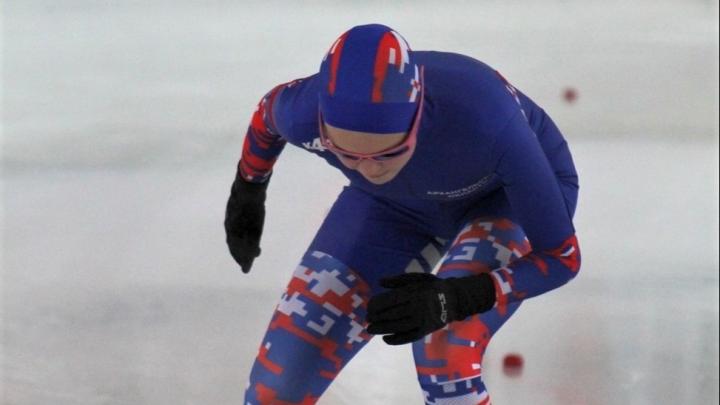 Конькобежцы из Архангельской области заработали две медали на первенстве Северо-Запада