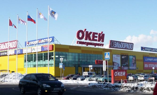 Омские полицейские прострелили колёса машины, которая дрифтовала у «О'Кея»