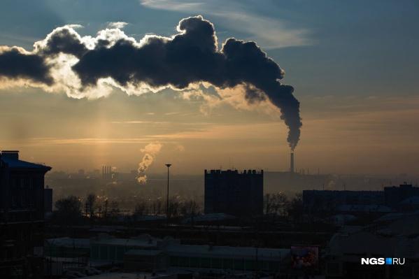 Уровень загрязнения воздуха вечером оценивается в 7 баллов