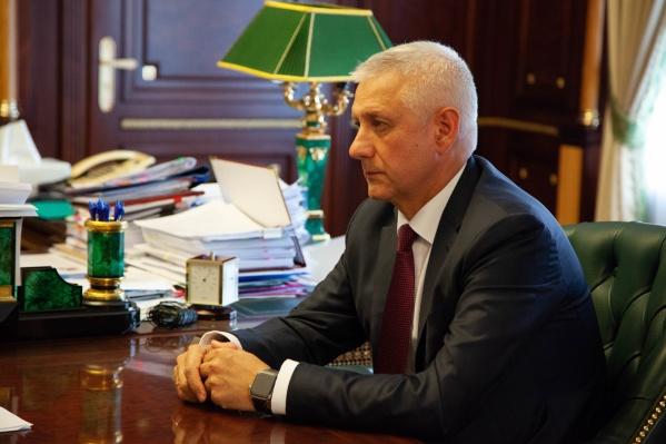 Сергей Бердников будет работать вице-губернатором на общественных началах