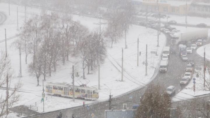 В Самарской области все выходные будет идти снег