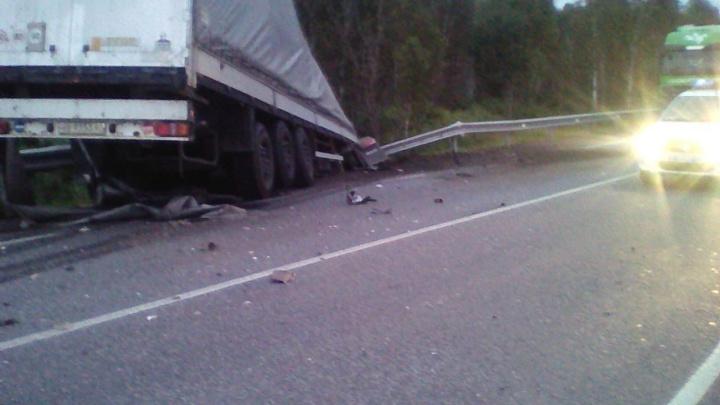На Южном Урале восстановили движение по трассе M-5 после аварии