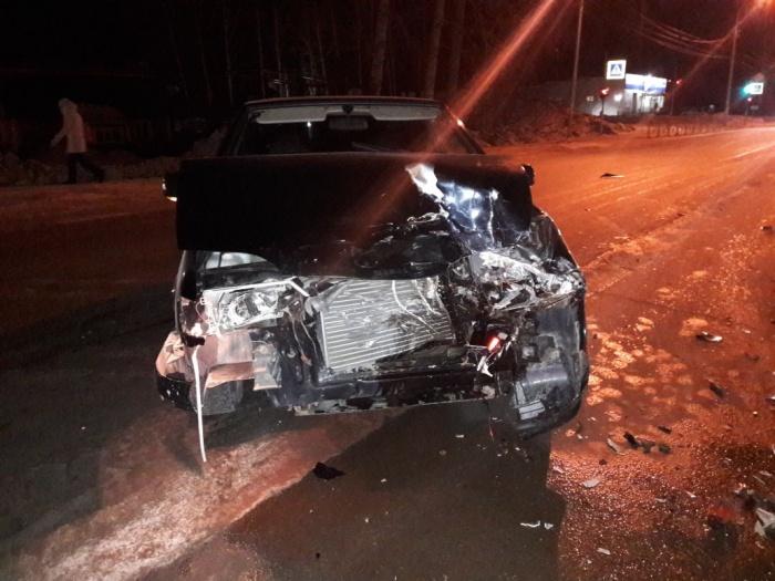 Авария произошла в 21:20