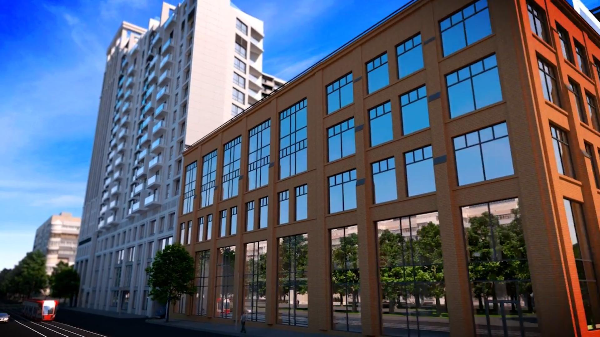 В ЖК предусмотрят помещения под офисы