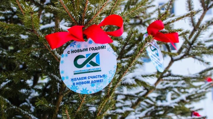 Заселились раньше срока: застройщик продолжает радовать дольщиков подарками к Новому году
