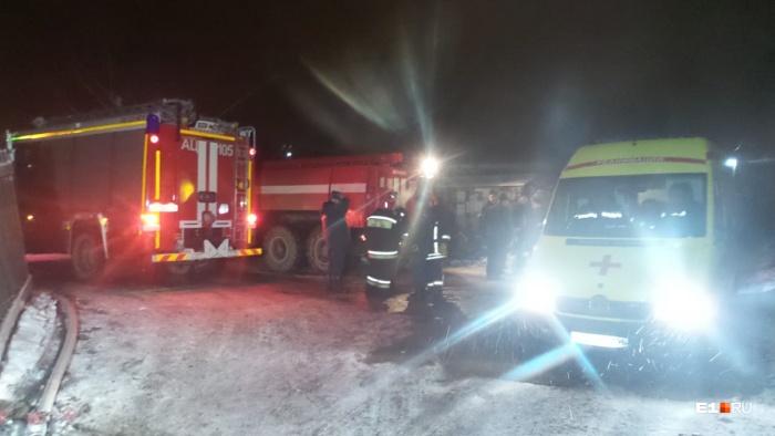 Пожарные работали по повышенному номеру 1-БИС